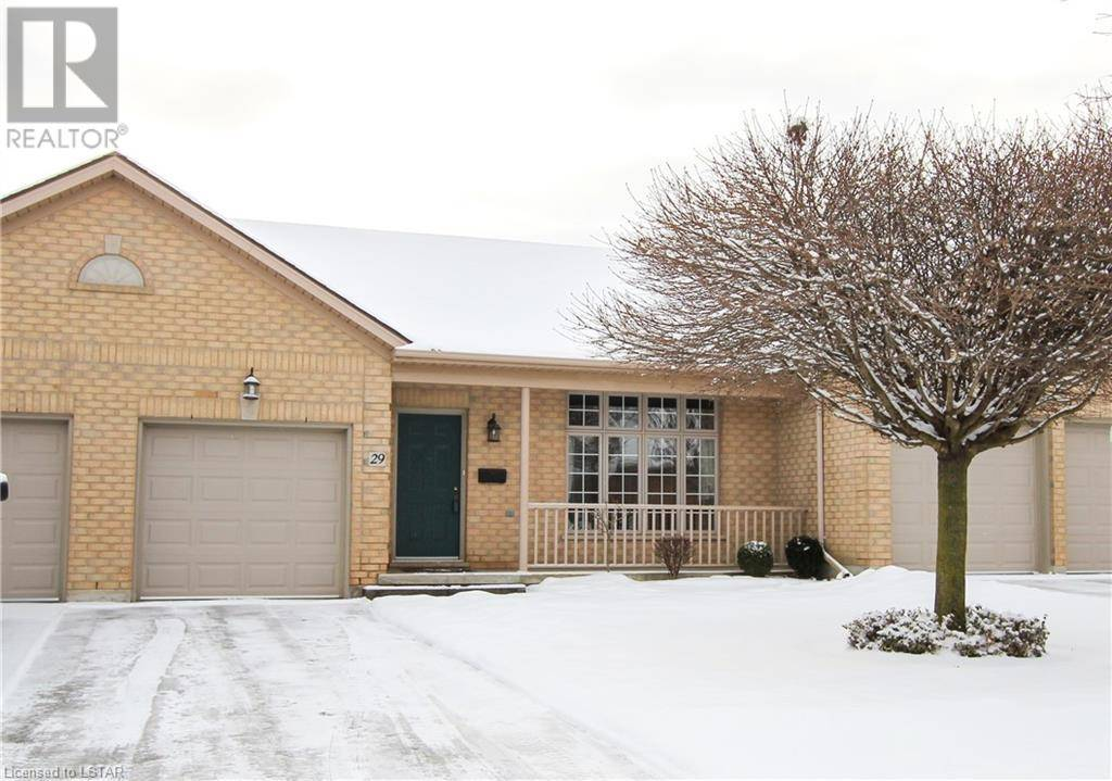 Residential property for sale at 29 Cadeau Te Unit 9 London Ontario - MLS: 244212