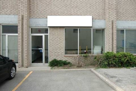 Commercial property for lease at 346 Newkirk Rd Apartment 9 Richmond Hill Ontario - MLS: N4667412