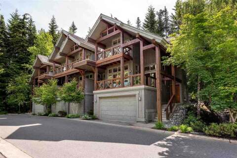 Townhouse for sale at 4668 Blackcomb Wy Unit 9 Whistler British Columbia - MLS: R2471964