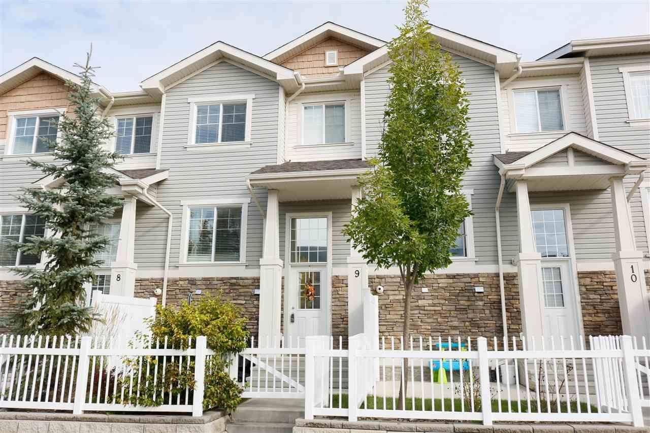 Townhouse for sale at 4825 Terwillegar Common Nw Unit 9 Edmonton Alberta - MLS: E4174398