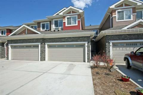 Townhouse for sale at 94 Longview Dr Unit 9 Spruce Grove Alberta - MLS: E4156981