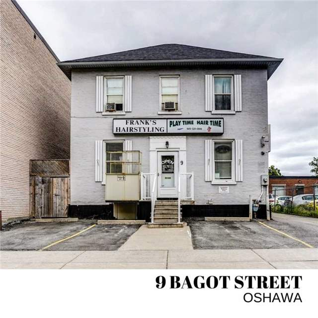 For Sale: 9 Bagot Street, Oshawa, ON | 0 Bath Property for $499,900. See 15 photos!