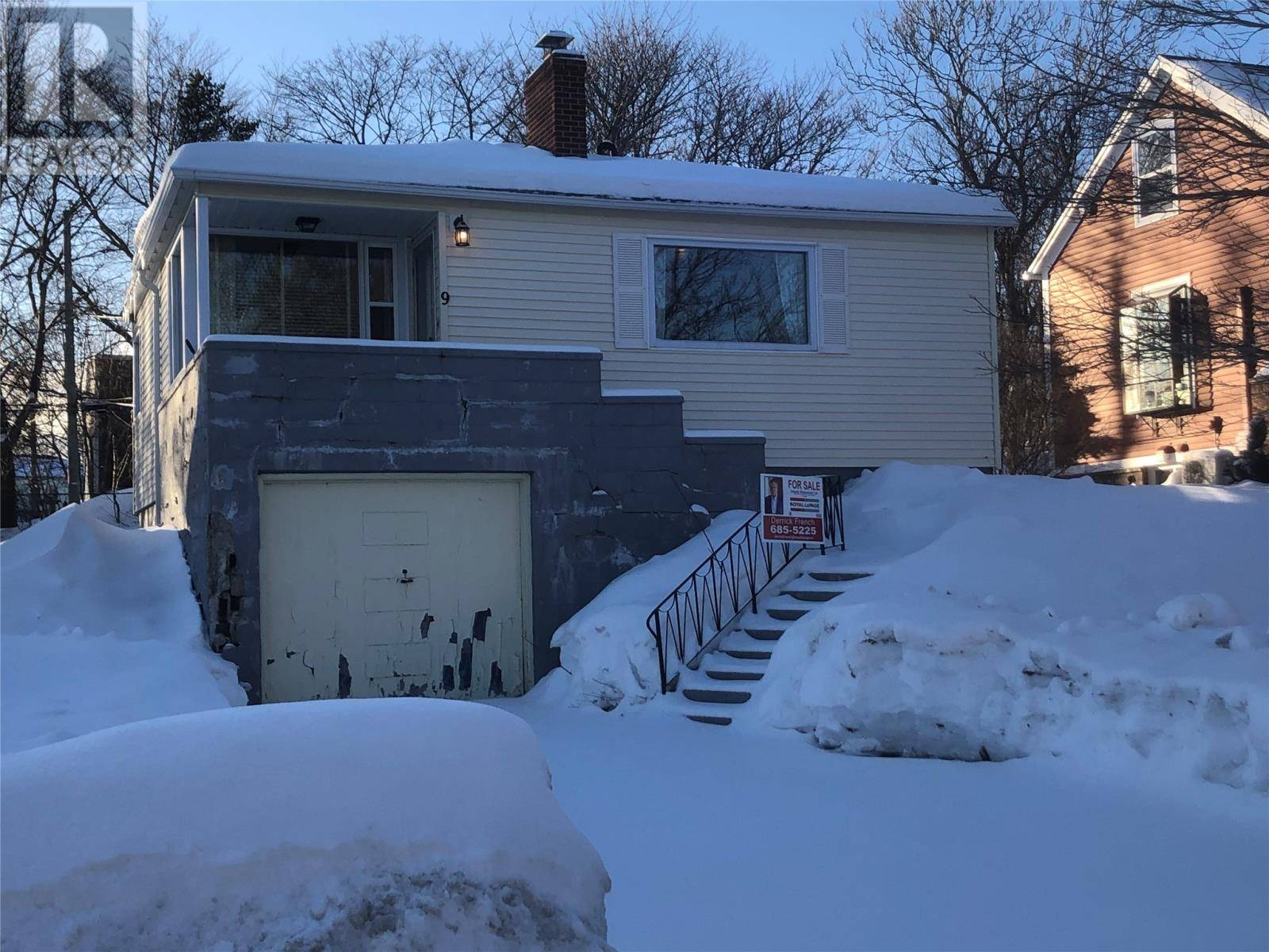 House for sale at 9 Bideford Pl St. John's Newfoundland - MLS: 1209498