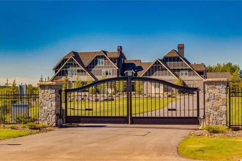 House for sale at 9 Braemar Glen Rd Rural Rocky View County Alberta - MLS: C4273493