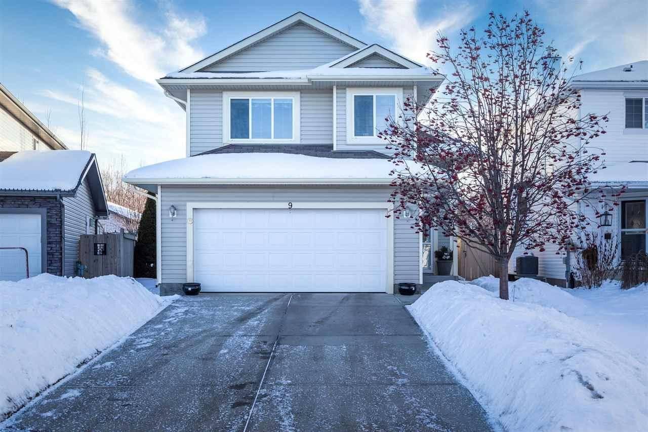 House for sale at 9 Erickson Cs St. Albert Alberta - MLS: E4187091