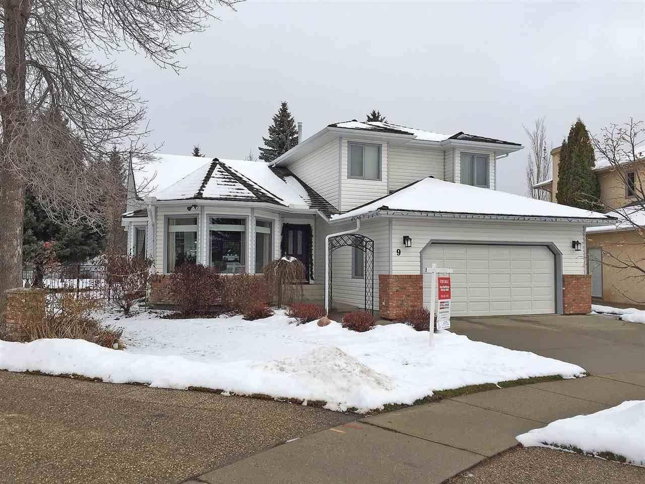 House for sale at 9 Essex Cs St. Albert Alberta - MLS: E4190609