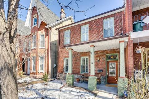 Townhouse for sale at 9 Fennings St Toronto Ontario - MLS: C4416073
