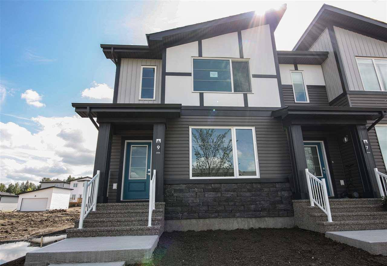 Townhouse for sale at 9 Fenwyck Blvd Spruce Grove Alberta - MLS: E4169166