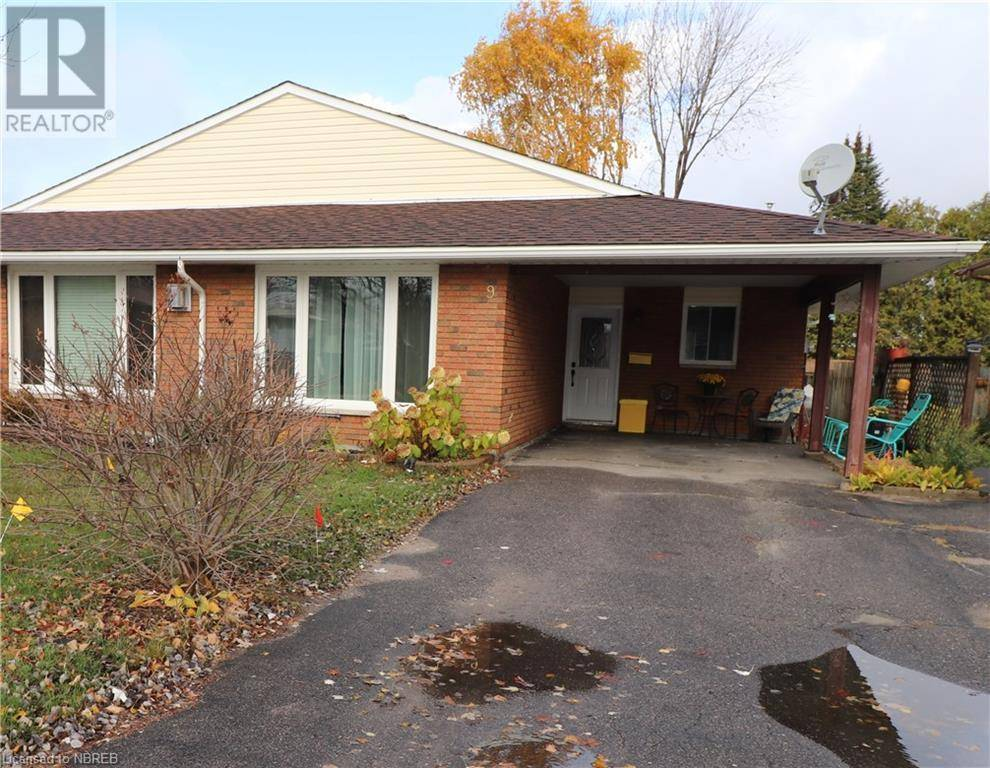 Residential property for sale at 9 Harris Dr North Bay Ontario - MLS: 230174
