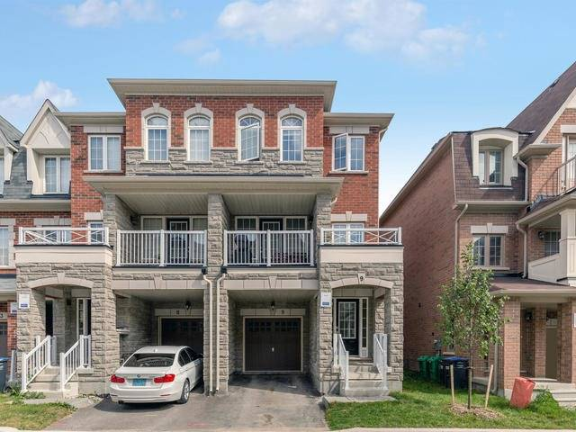 For Sale: 9 Kayak Heights, Brampton, ON | 3 Bed, 5 Bath Townhouse for $699,900. See 19 photos!