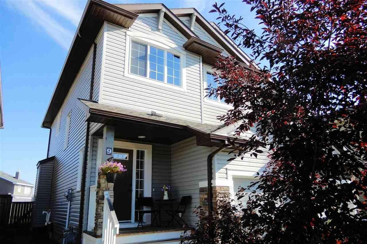 Townhouse for sale at 9 Meadowview Co Spruce Grove Alberta - MLS: E4211294