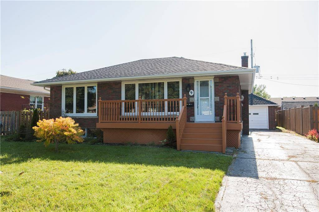 House for sale at 9 Milton Rd St. Catharines Ontario - MLS: 30771672