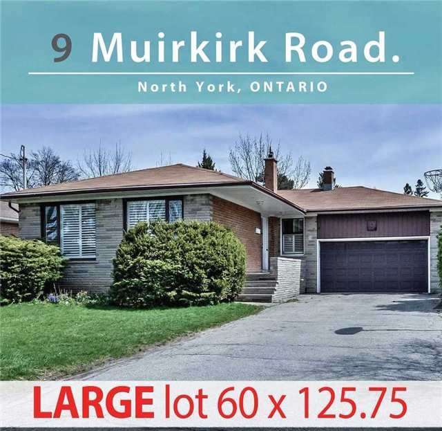 House For Sale At 9 Muirkirk Rd Toronto Ontario