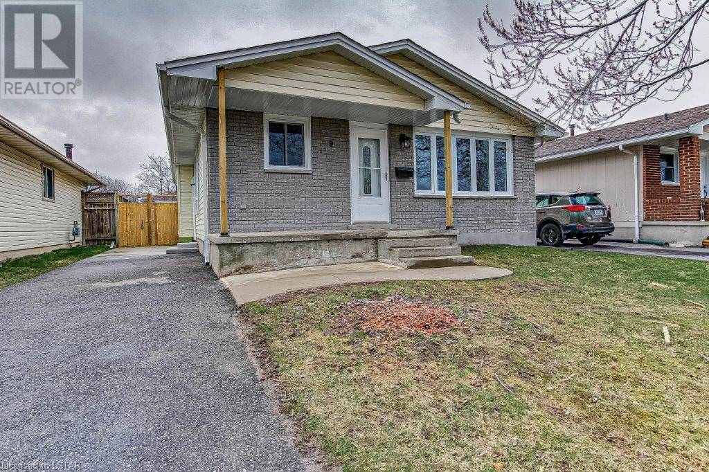 House for sale at 9 Poplar Cres London Ontario - MLS: 253403