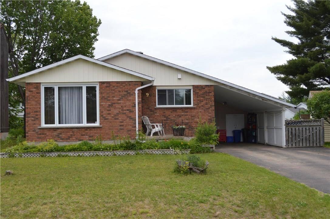 House for sale at 9 Tamarack Cres Deep River Ontario - MLS: 1147329