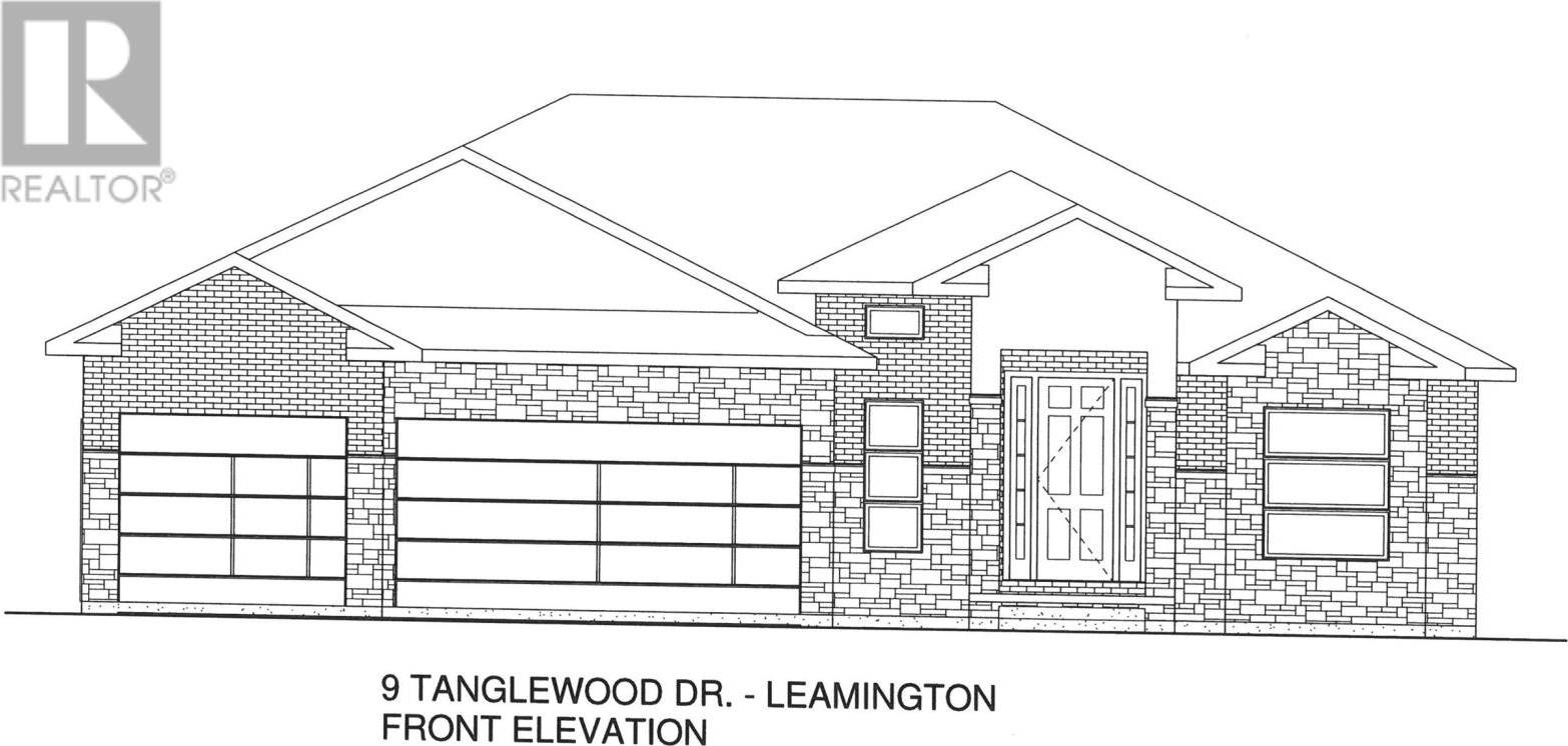 House for sale at 9 Tanglewood  Leamington Ontario - MLS: 20000735