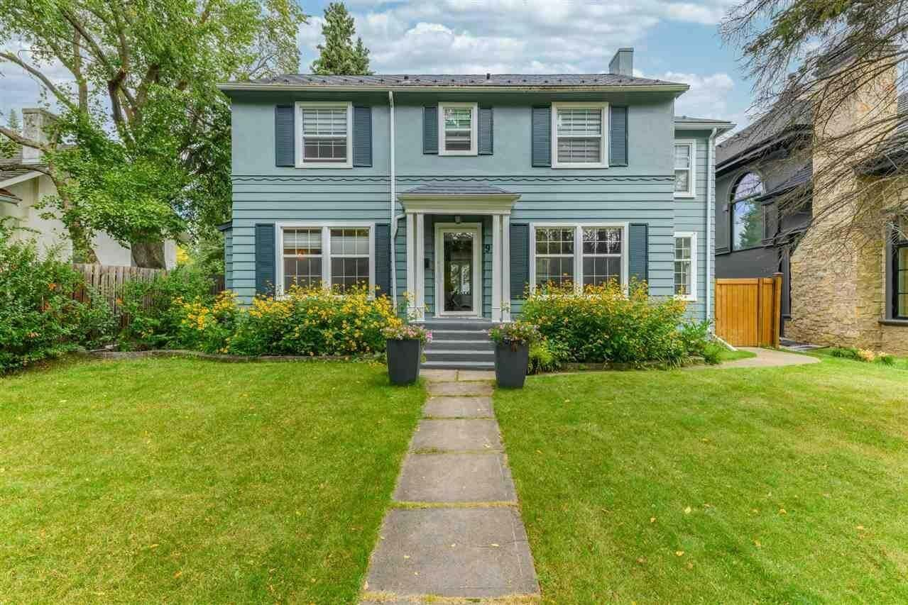 House for sale at 9 Tweedsmuir Cr NW Edmonton Alberta - MLS: E4213937