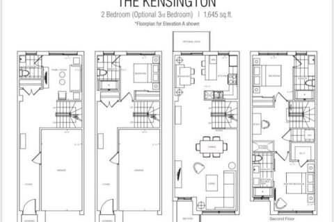Condo for sale at 101 Masonry Ct Unit 90 Burlington Ontario - MLS: W4925569