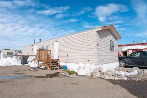 Residential property for sale at 5301 2 St Unit 90 Coalhurst Alberta - MLS: LD0180577