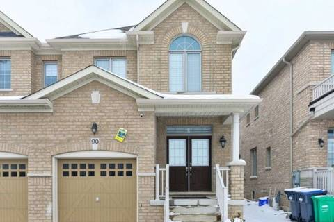 Townhouse for sale at 90 Aspermont Cres Brampton Ontario - MLS: W4635477