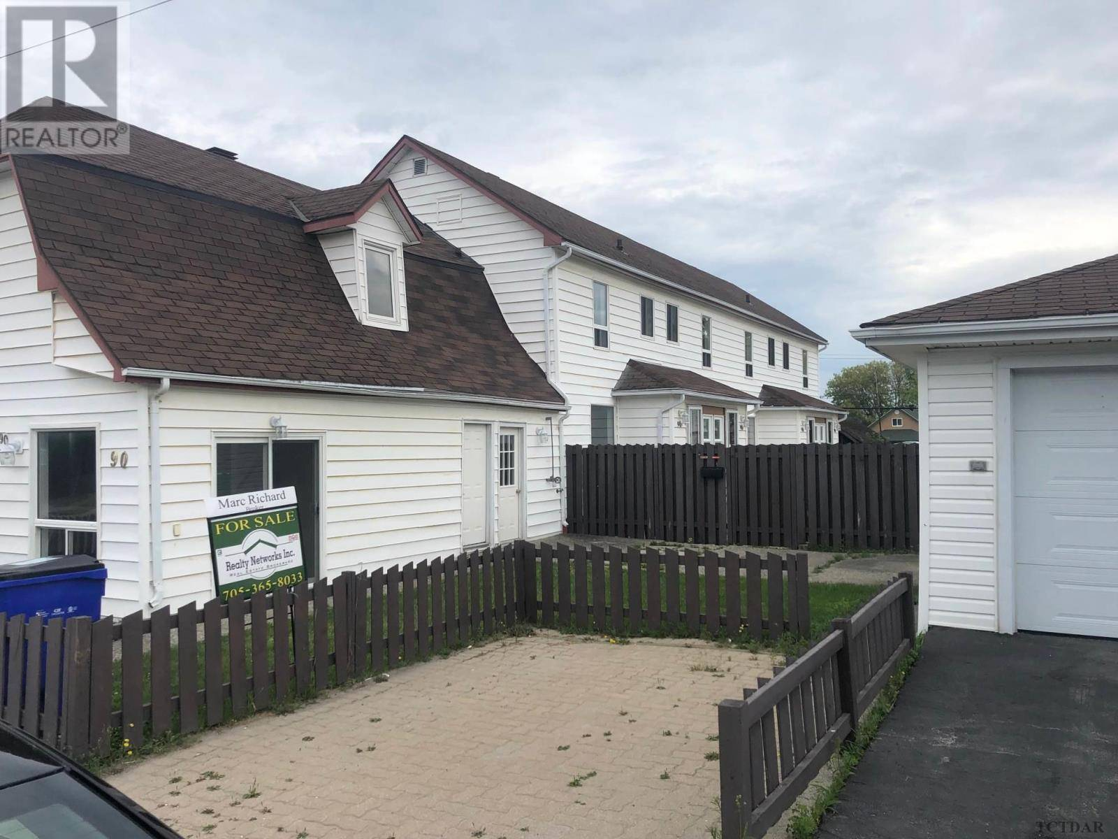 Townhouse for sale at 90 Bannerman Ave Timmins Ontario - MLS: TM190624