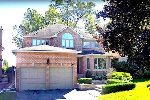 House for rent at 90 Corner Ridge Rd Aurora Ontario - MLS: N4707658