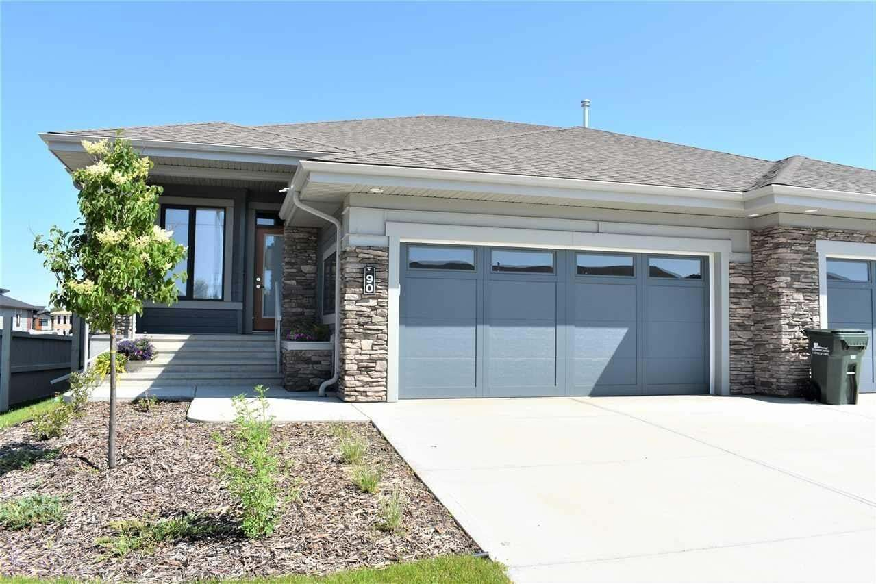 Townhouse for sale at 90 Rybury Co Sherwood Park Alberta - MLS: E4203995