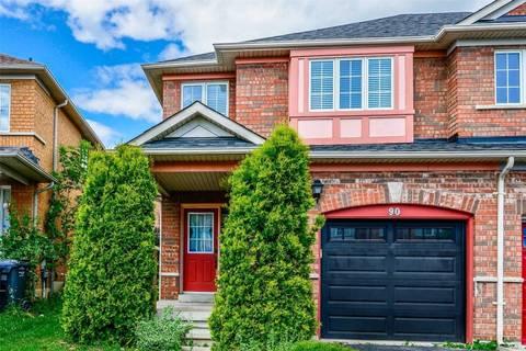 Townhouse for sale at 90 Timbertop Cres Brampton Ontario - MLS: W4548897