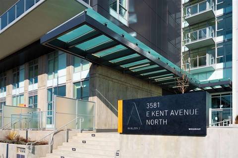 Condo for sale at 3581 Kent Avenue North Dr E Unit 903 Vancouver British Columbia - MLS: R2445210