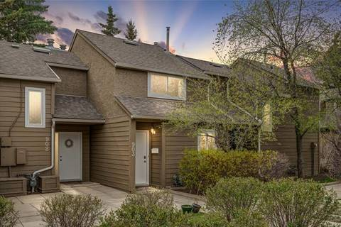 Townhouse for sale at 829 Coach Bluff Cres Southwest Unit 903 Calgary Alberta - MLS: C4254745