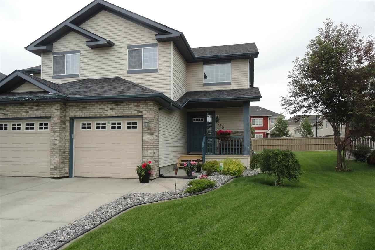 Townhouse for sale at 9033 Scott Cr NW Edmonton Alberta - MLS: E4203683