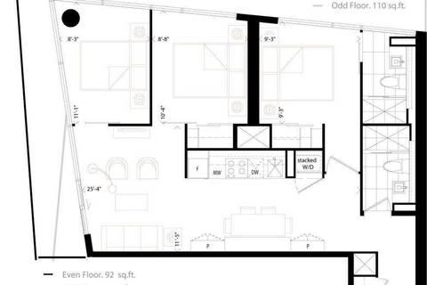 Apartment for rent at 215 Queen St Unit 905 Toronto Ontario - MLS: C4732803