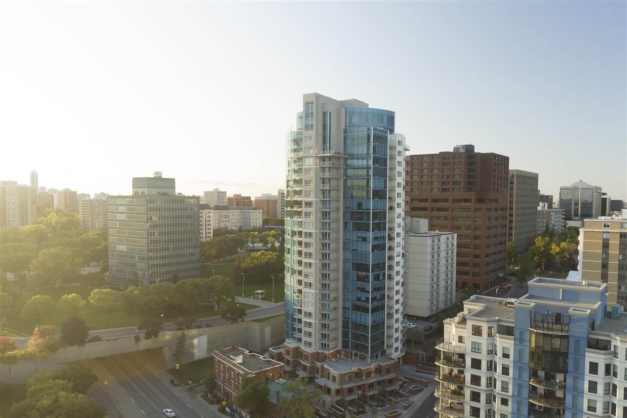 Condo for sale at 9720 106 St NW Unit 906 Edmonton Alberta - MLS: E4215381