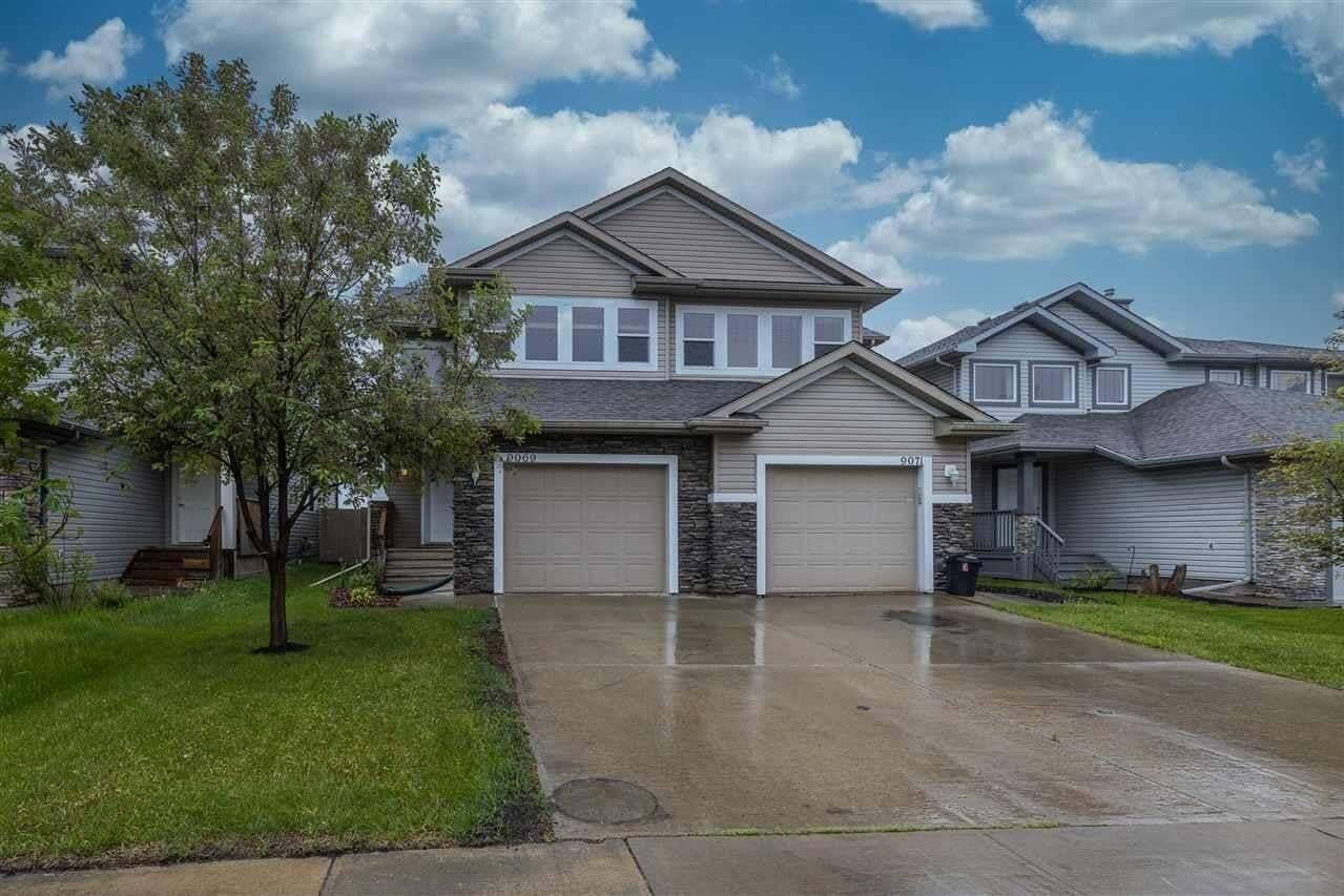 Townhouse for sale at 9069 Scott Cr NW Edmonton Alberta - MLS: E4202314