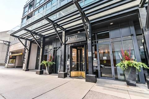 Apartment for rent at 1 Scott St Unit 909 Toronto Ontario - MLS: C4643290