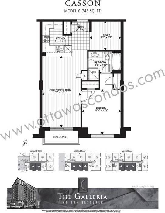 Condo for sale at 200 Besserer St Unit 909 Ottawa Ontario - MLS: 1162156