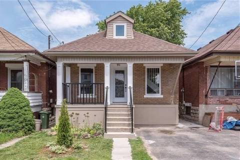 House for sale at 91 Alpine Ave Hamilton Ontario - MLS: X4552574