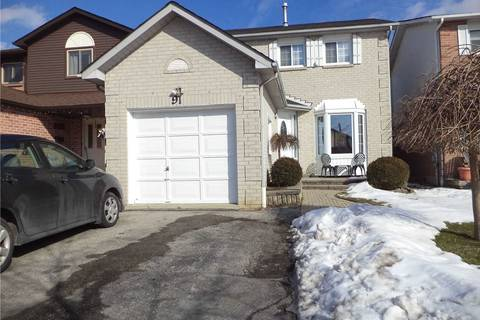 House for sale at 91 Barnes Dr Ajax Ontario - MLS: E4700334