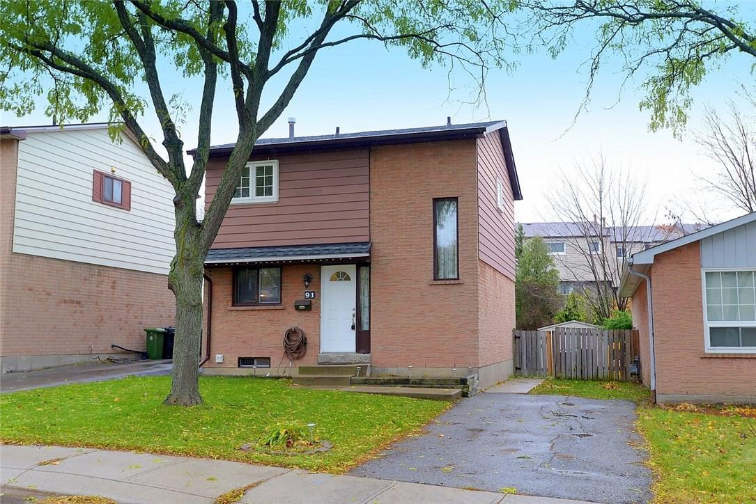 Removed: 91 Berrisfield Crescent South, Hamilton, ON - Removed on 2019-01-09 04:24:04