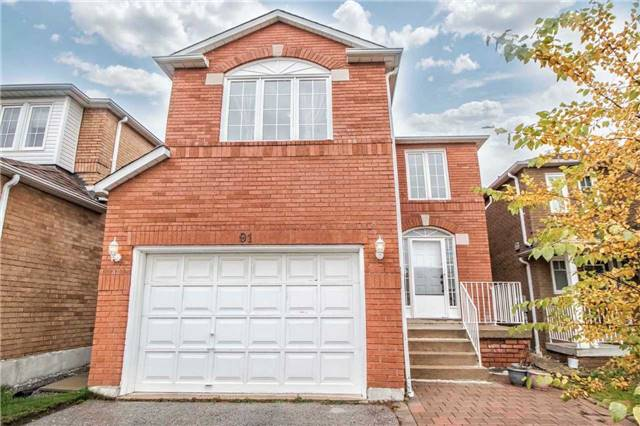House for sale at 91 Booth Crescent Ajax Ontario - MLS: E4293259