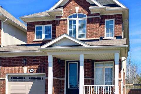 Townhouse for sale at 91 Collier Cres Essa Ontario - MLS: N4761858