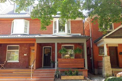 Townhouse for sale at 91 Cowan Ave Toronto Ontario - MLS: W4813049