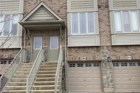 Townhouse for sale at 91 Edenbrook Dr Hamilton Ontario - MLS: 40058275