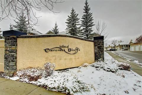 Townhouse for sale at 91 Evercreek Bluffs Pl Southwest Calgary Alberta - MLS: C4285954