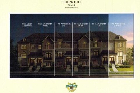 Townhouse for rent at 91 Grand Trunk Ave Vaughan Ontario - MLS: N5068569