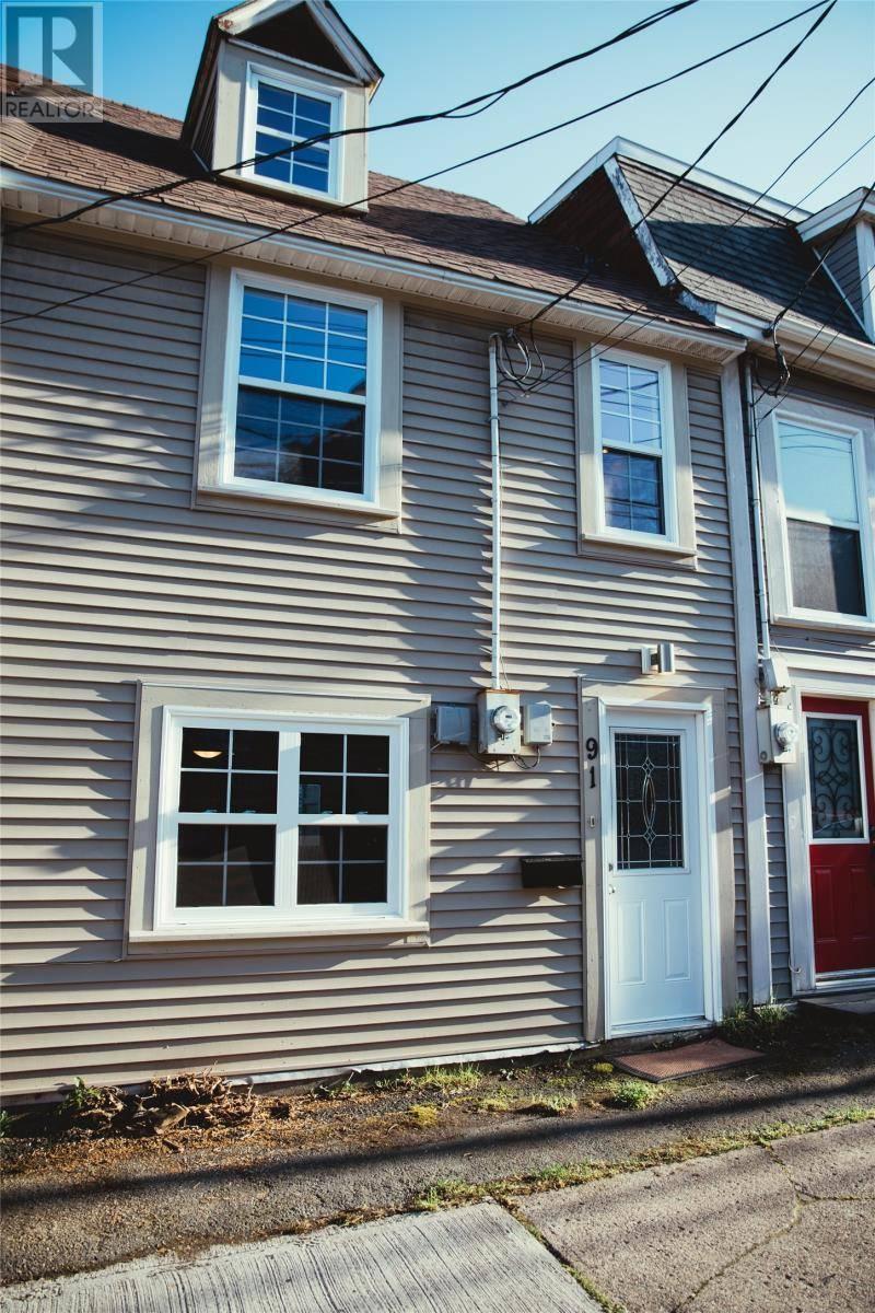 House for sale at 91 Hamilton Ave St. John's Newfoundland - MLS: 1205567