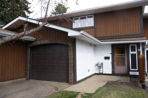Townhouse for sale at 91 Hearthstone Rd Nw Edmonton Alberta - MLS: E4144718