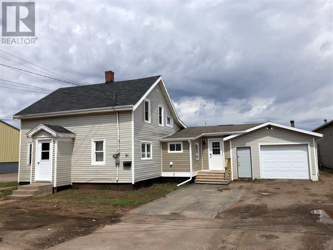 For Sale: 91 Ottawa Street, Summerside, PE Townhouse for $119,000. See 25 photos!