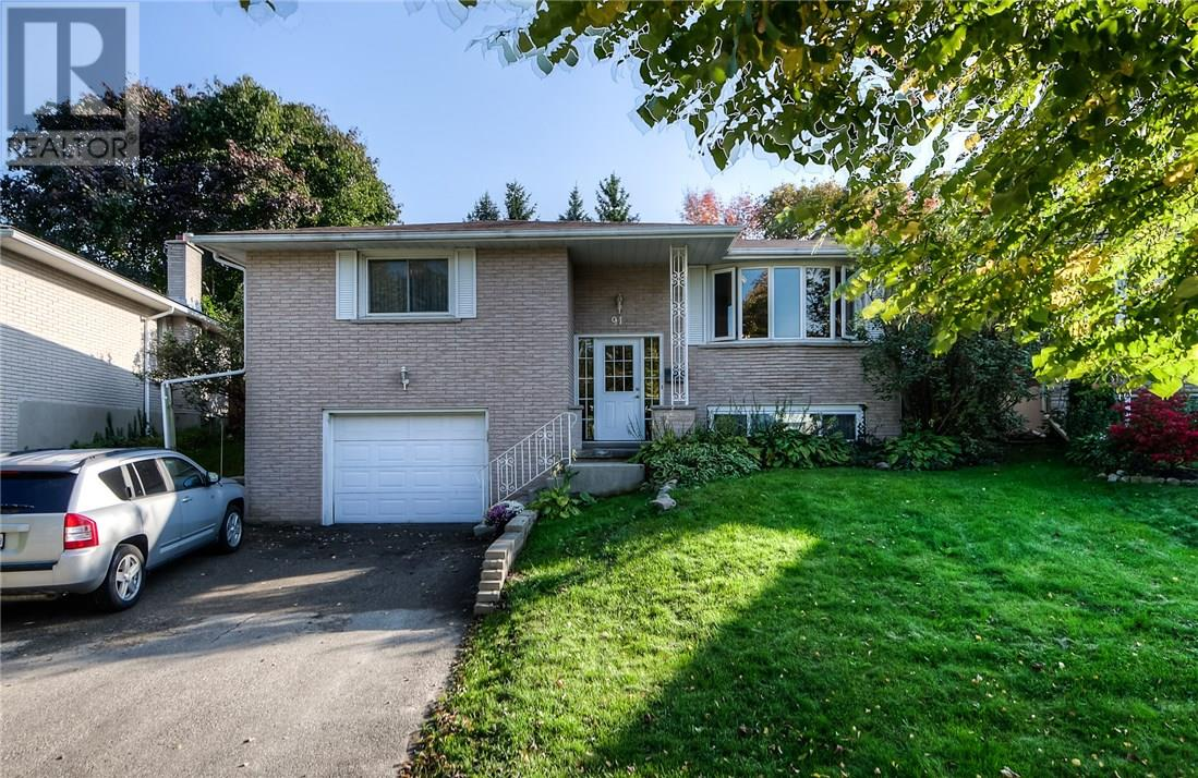 Removed: 91 Radcliffe Drive, Kitchener, ON - Removed on 2018-11-06 04:45:19