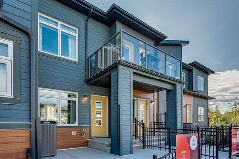 Townhouse for sale at 91 Sage Bluff Gt Northwest Calgary Alberta - MLS: C4267800
